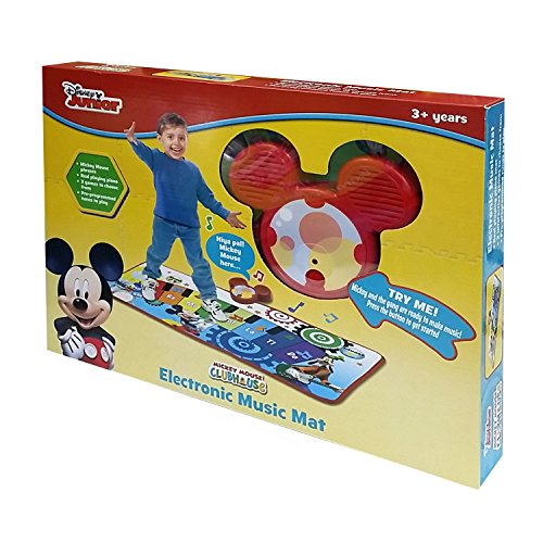 Mickey mouse mickey mouse club house piano music mat for Mouse house music