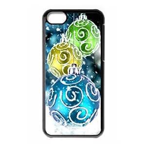 MMZ DIY PHONE CASEiphone 5c hard back case with Christmas smow flake style designed by padcaseskingdom