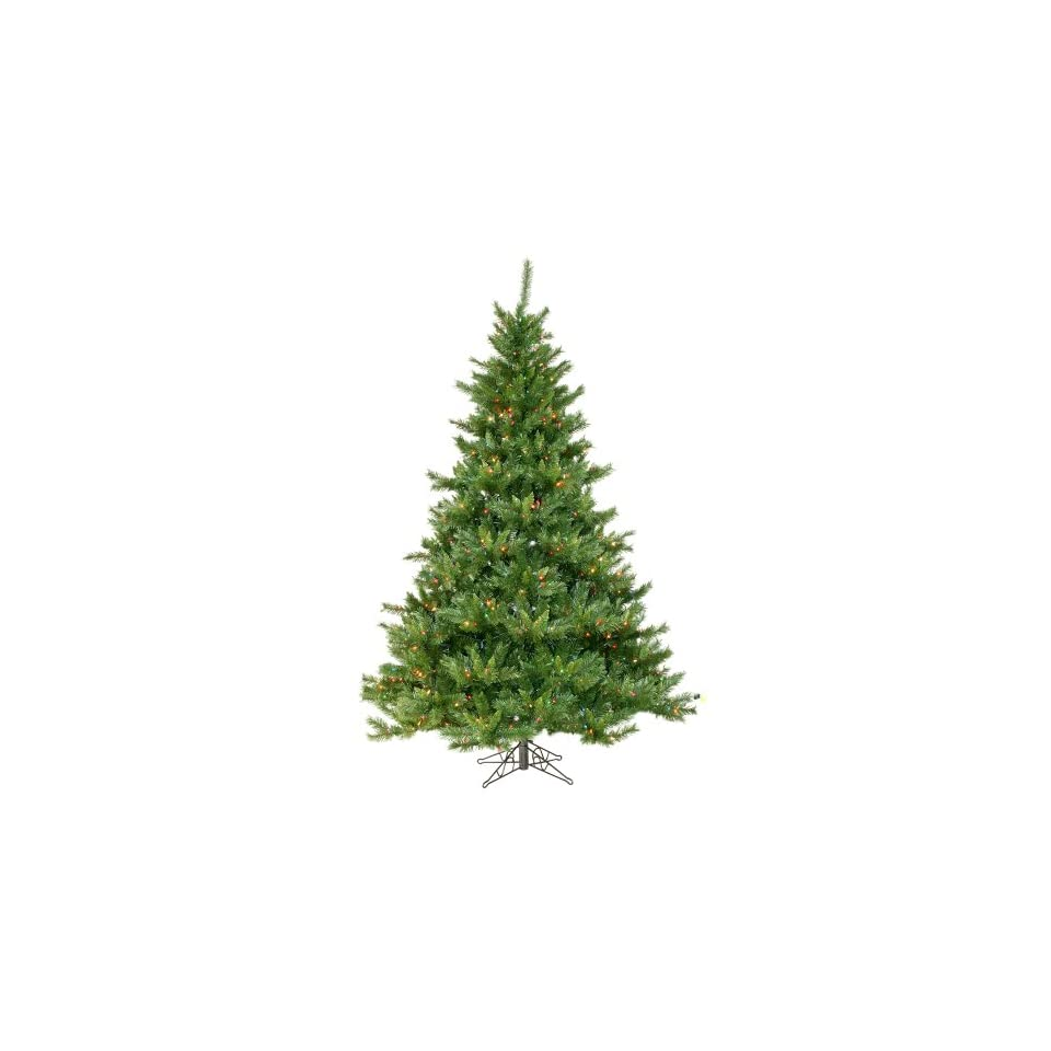 7.5 Pre Lit Imperial Pine Artificial Christmas Tree   Multi Lights