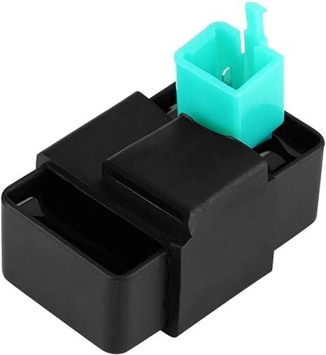 5-polige CDI-Box 5 Pins Racing CDI Box f/ür 50ccm 70ccm 90ccm 110ccm Roller ATV