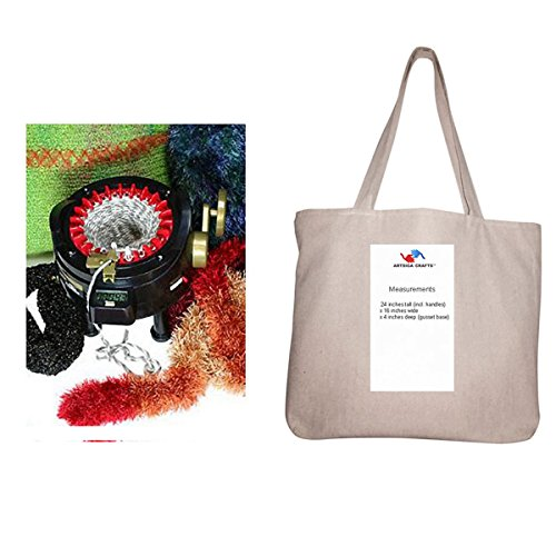 addi-bundle-express-original-knitting-machine-kit-includes-22-needles-with-1-artsiga-crafts-project-
