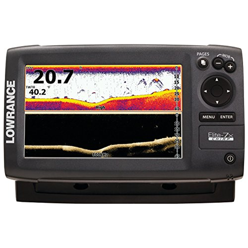 Lowrance Elite-7X Chirp Fishfinder with 83 200 455 800 KHz Transducer