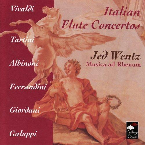 Vivaldi, Tartini, Albinoni, Ferrandini, Giordani, Galuppi: Italian Flute Concertos