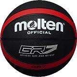 molten(モルテン) バスケットボール GR7 BGR7-KR ブラック×レッド 7号