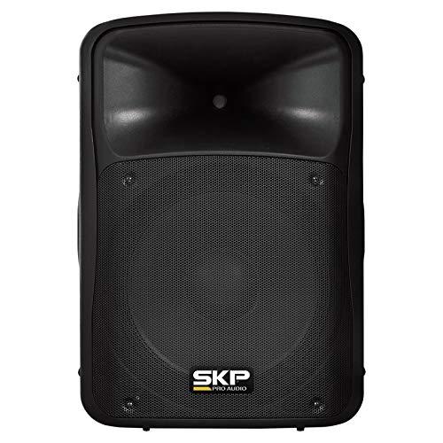 - SKP PRO AUDIO SK-4P BK Powered Loudspeaker, 15