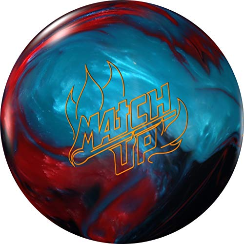 Storm Match Up Pearl Bowling Ball- Black/Red/Blue 14lbs