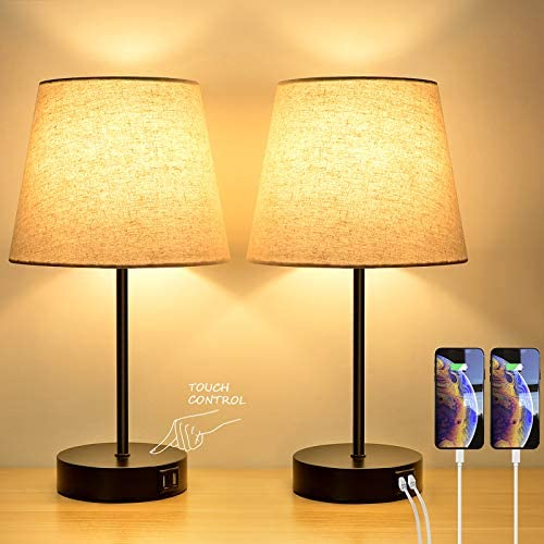 3-Way Touch Control Dimmable Table Lamp