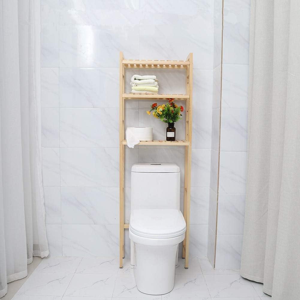 Roomy Space Saver Bathroom WC Shelves Over Toilet Washing Machine Rack Storage Shelf 50 3-Tier Bathroom Shelves Over the Toilet Storage 20 154cm Over Toilet Bathroom Storage Unit with 3 Shelves