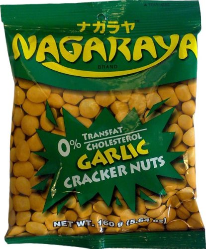 Nagaraya Snack Cracker, Garlic, 5.6-Ounce (Pack of 8)