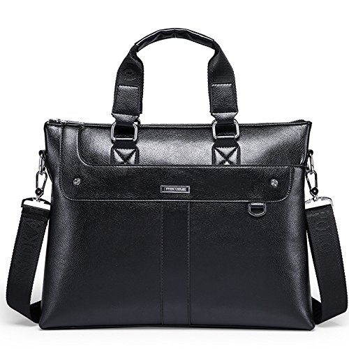 Bag Black Business Shoulder Men's Casual gHXqP1