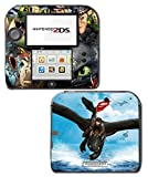 How to Train your Dragon 2 3 Toothless Hiccup Astrid Movie Video Game Vinyl Decal Skin Sticker Cover for Nintendo 2DS System Console