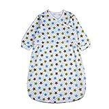 BLOOMSTAR Baby Sleeping Bag, Wearable Blanket, Long Sleeves Sleepwear Sleepbag, 12-36M