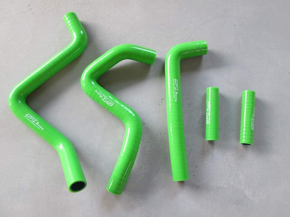 FOR Kawasaki KX250 KX 250 1999 2000 2001 2002 silicone radiator hose Blue