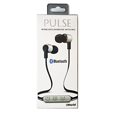Amazoncom Iworld Pulse Wireless Bluetooth Earbuds With Microphone