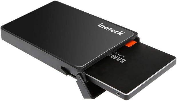 Inateck 2.5 Pulgadas USB 3.0 Hard Drive Disk Enclosure/Caso de 9,5 ...