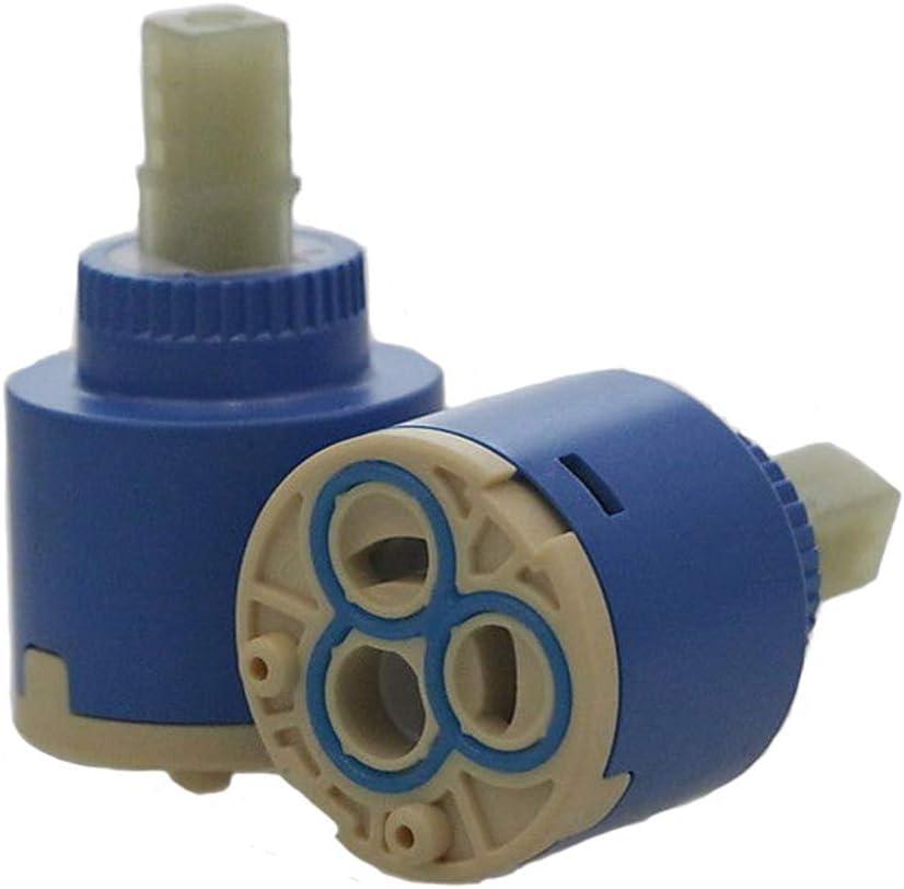 Ownace 35mm Ceramic Disc Plastic Bath Basin Shower Lever Mixer Tap Inner Cartridge 35mm