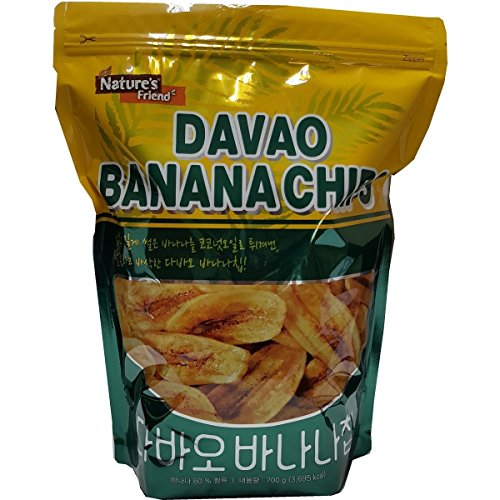 Sweet and Crisp DAVAO BANANA CHIPS in Coconut Oil Philippines Banana Chips (700g) (Best Banana Chips In The Philippines)