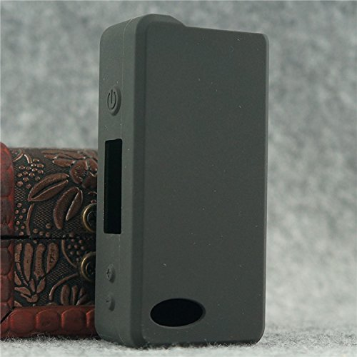Silicone Case for Sigelei 75w Temp Control Mod Sleeve Cover Skin Wrap (Black)