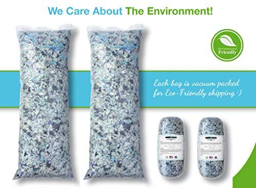 Cushions Bean Bag Dog Pet Beds Shredded Memory Foam Fill Refill for Pillows