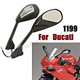 Motorcycle Turn Signal Rearview Side Mirrors For Ducati Panigale 1199 S R 12 13 14 899 2014 2015