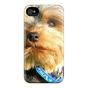 Premium Cute Little Dog Back Covers Snap On Cases For Case Iphone 4/4S Cover
