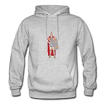 Dorastanl Customized Women Warrior Sweatshirts - Warrior Printed In X-large