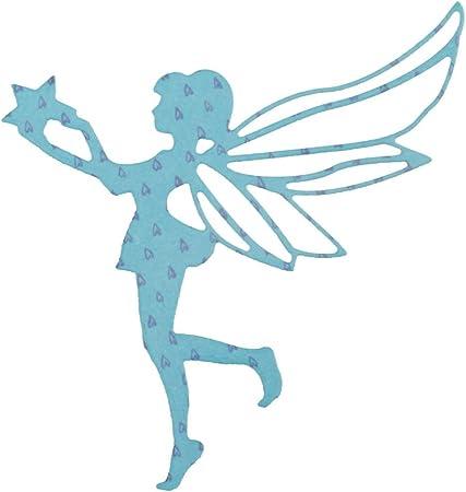 Die Cut Silhouette MERMAID /'C/' x 10 Card Making Fairy Jars Scrapbooking Crafts
