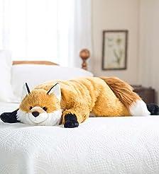 Fuzzy Fox Animal Giant Plush Stuffed Bod...