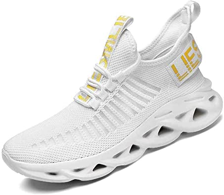 Kefuwu Zapatillas de Deporte Hombres Running Zapatos para Correr Gimnasio Sneakers Deportivas Padel Transpirables Casual Montaña: Amazon.es: Zapatos y complementos