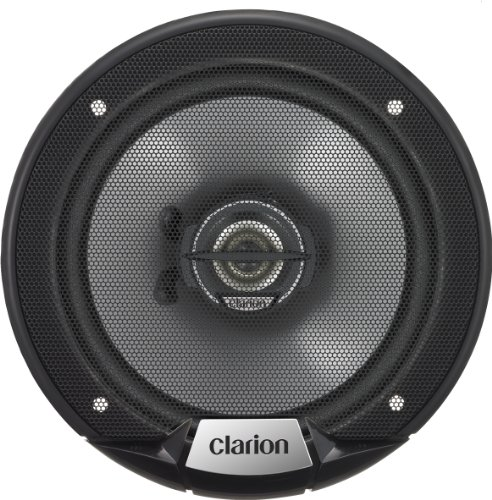 Clarion SRG1623R 80-Watt 6.5-Inch 2-Way Good Series Coaxial Speakers-Set of 2