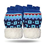 Pudus Fingerless Gloves, Adults, Unisex, One Size (Nordic Blue)