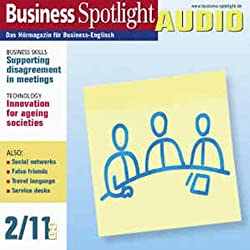 Business Spotlight Audio - Supporting disagreement in meetings. 2/2011