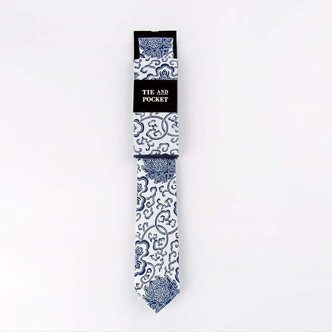 Corbatas para hombre Traje de corbata Estampado de algodón ...