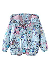 Baby Boys Clothes, VEKDONE Children Kid Boys Girls Spring Autumn Cartoon Print Trench Jacket Outwear Coat