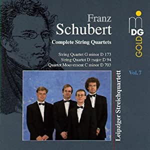 Schubert:  String Quartet in D
