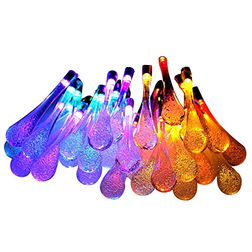 Easter ourdoor string light, SHONCO Solar Outdoor String Lights Waterproof with 30 LED for ...