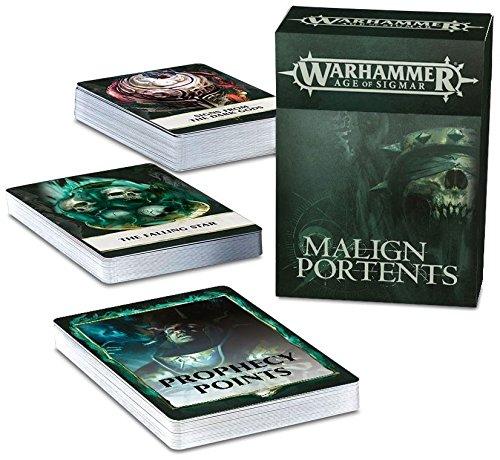 Games Workshop Warhammer Age of Sigmar Malign Portents Cards