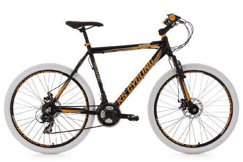 KS Cycling Erwachsene Fahrrad Mountainbike Hardtail 26 Zoll Compound RH 53 cm, 26, Schwarz, 103M