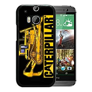 Hot Sale HTC ONE M8 Case ,Unique And Newest Designed Case With Caterpillar Black HTC ONE M8 Phone Case