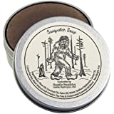 Sasquatch Soap-100% Natural & Hand Made. Scented with Essential Oils. Handy Travel Gift Tin. Great For Bigfoot Cryptozoology Lovers.