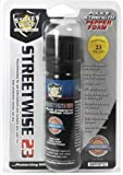 Lab Certified Streetwise 230,000 SHU FOAM Pepper Spray 3 oz. UV marking dye, Made in USA. Cannot ship to Massachusetts, New Jersey if over (3/4 oz), New York, Wisconsin, Michigan APO, FPO or Hawaii.