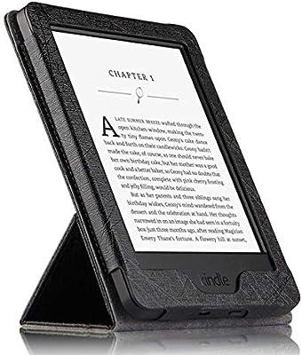 XXIUYHU Funda para Kindle PU Protectora Ebook Reader Smart Cover ...