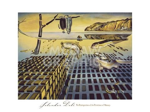- The Disintegration of The Persistence of Memory 1952-54 by Salvador Dali, Art Print Poster 18