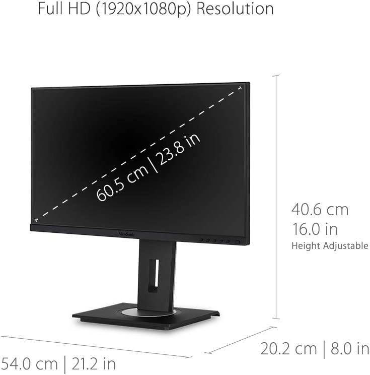 Viewsonic VG Series VG2455 Pantalla para PC 60,5 cm (23.8