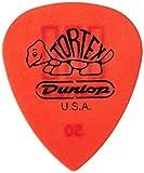 Dunlop 462P.50 Tortex TIII, Red.50mm, 12/Player's Pack