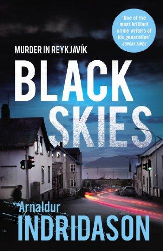 Black Skies Reykjavik Murder Mysteries ebook product image