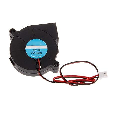 ZOUCY Ventilador de Impresora 3D 5015 DC 50X50x15mm 0.23A Soplador ...