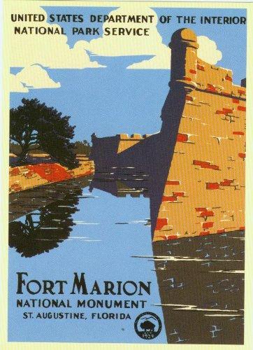 Fort Marion National Monument Postcard