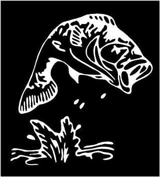 "B.A.S.S shield fishing vinyl sticker decal 4/""x5/"""