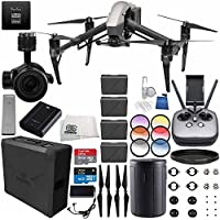 DJI Inspire 2 Premium Combo with Zenmuse X5S and CinemaDNG and Apple ProRes Licenses Videographer 120G PRO Ultimate Bundle